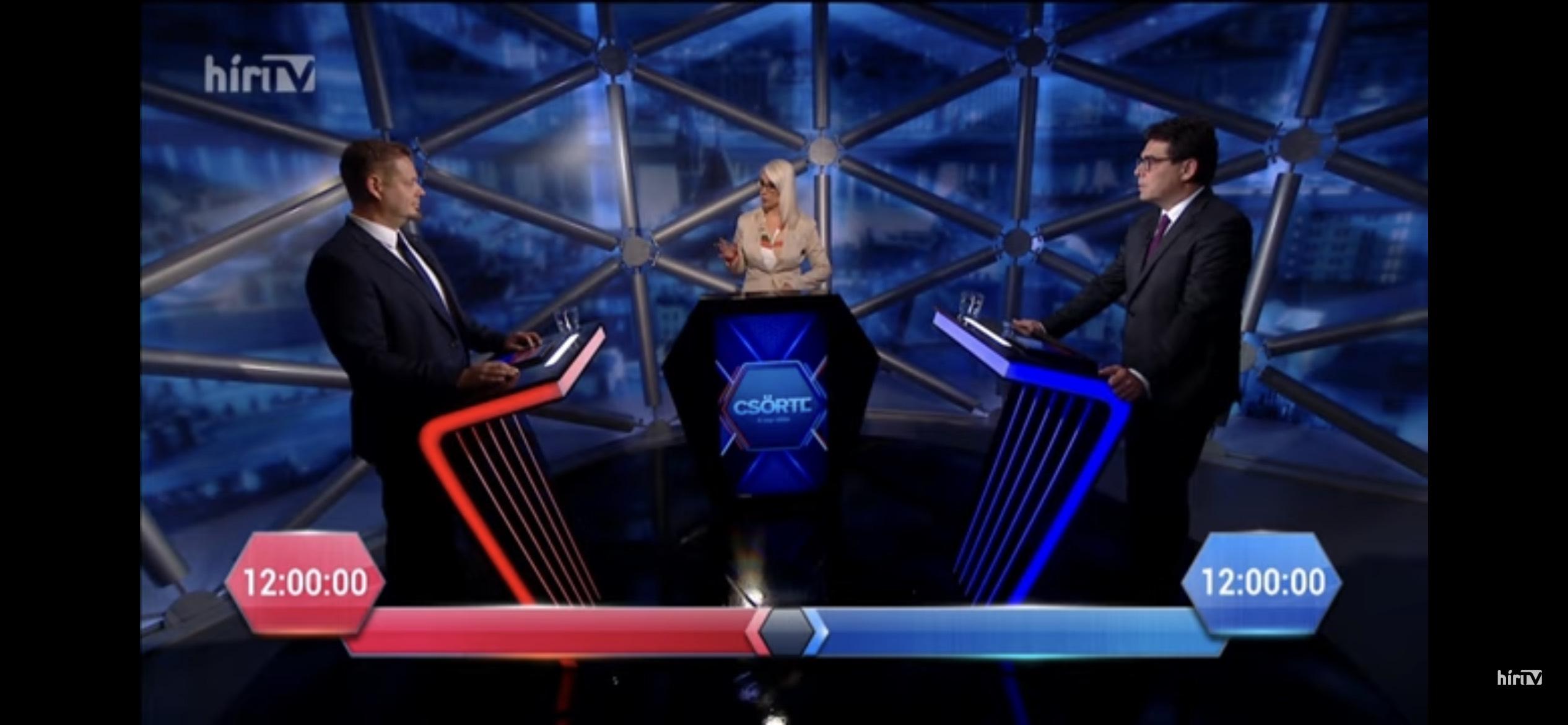Hír TV, Csörte – 2021.10.13.